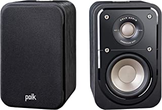 Polk Audio Signature Series S10 Bookshelf Speakers for Home Theater, Surround Sound and Premium Music Powerport Technology...
