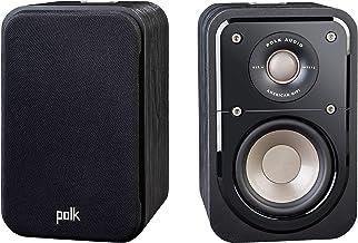 Polk Audio Signature Series S10 Bookshelf Speakers for Home Theater, Surround Sound and Premium Music   Powerport Technolo...