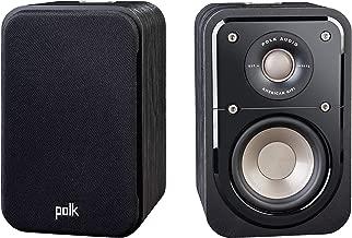 Polk Audio Signature Series S10 Bookshelf Speakers for Home Theater, Surround Sound and..
