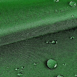 NOVELY Logan Outdoor Köper Baumwollstoff Mix   Robust   Stoff   Wasserabweisend   Twill   1 lfm   Polsterstoff Segeltuch Farbe: 32 Dunkelgrün