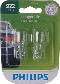 Philips 922LLB2 LongerLife Miniature Bulb,  2 Pack