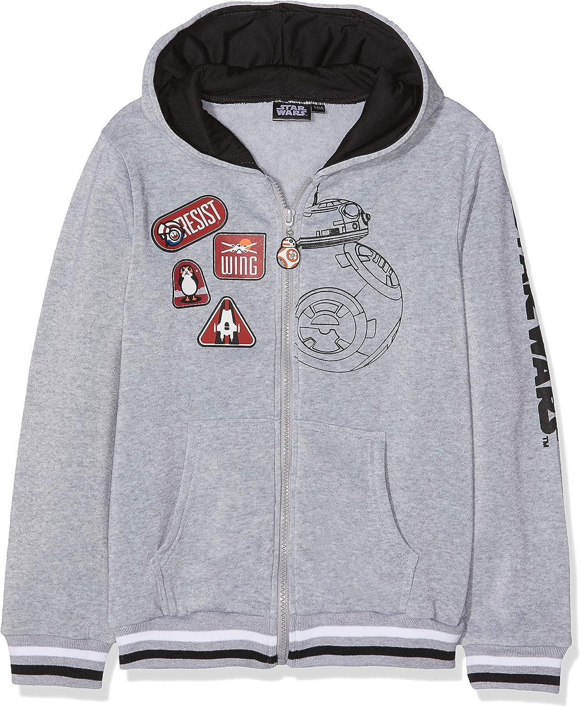STAR WARS Detroit Mall Excellent Boys Hoodie Sweatjacket 4 - Grey Years