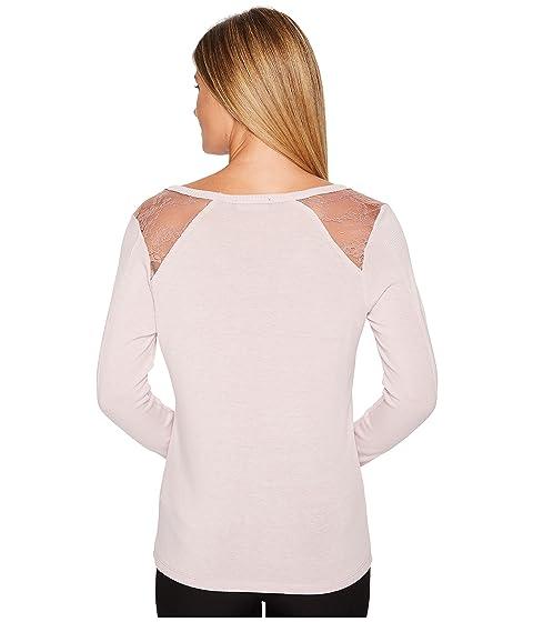 Shoulder Sleeve Trump Tee Knit Ivanka Long Sheer TqyzgwHqA