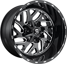 FUEL Triton NBL-Gloss BLK MIL Wheel with Painted (20 x 12. inches /6 x 135 mm, -43 mm Offset)