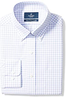 Amazon Brand - BUTTONED DOWN Men's Classic Fit Check...