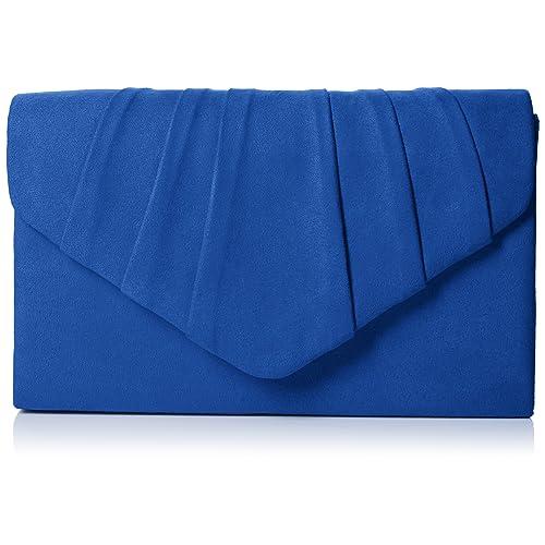 2f6710a1f5c SwankySwans Women's Iggy Suede Velvet Envelope Party Prom Clutch Bag Clutch