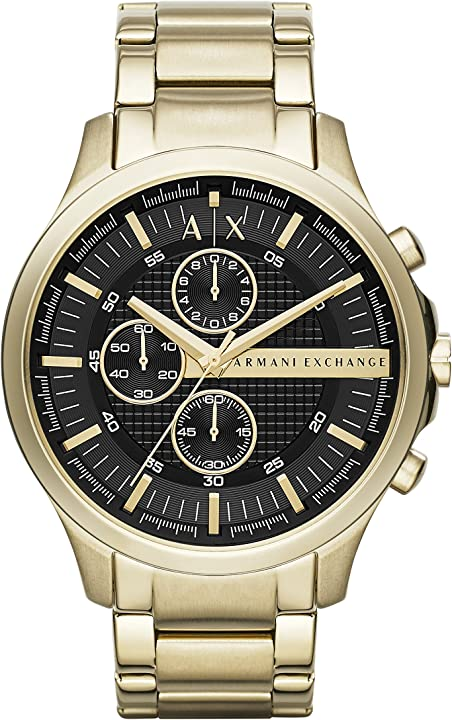 Orologio armani exchange cronografo quarzo uomo con cinturino in acciaio inossidabile ax2137