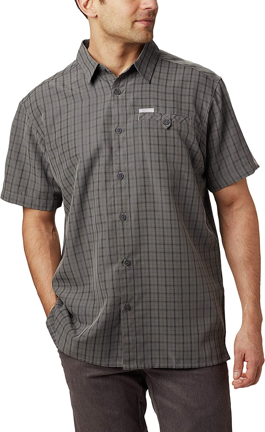Columbia Men's Declination 67% OFF of fixed price Trail II Short Sleeve Super beauty product restock quality top Prote Shirt UV