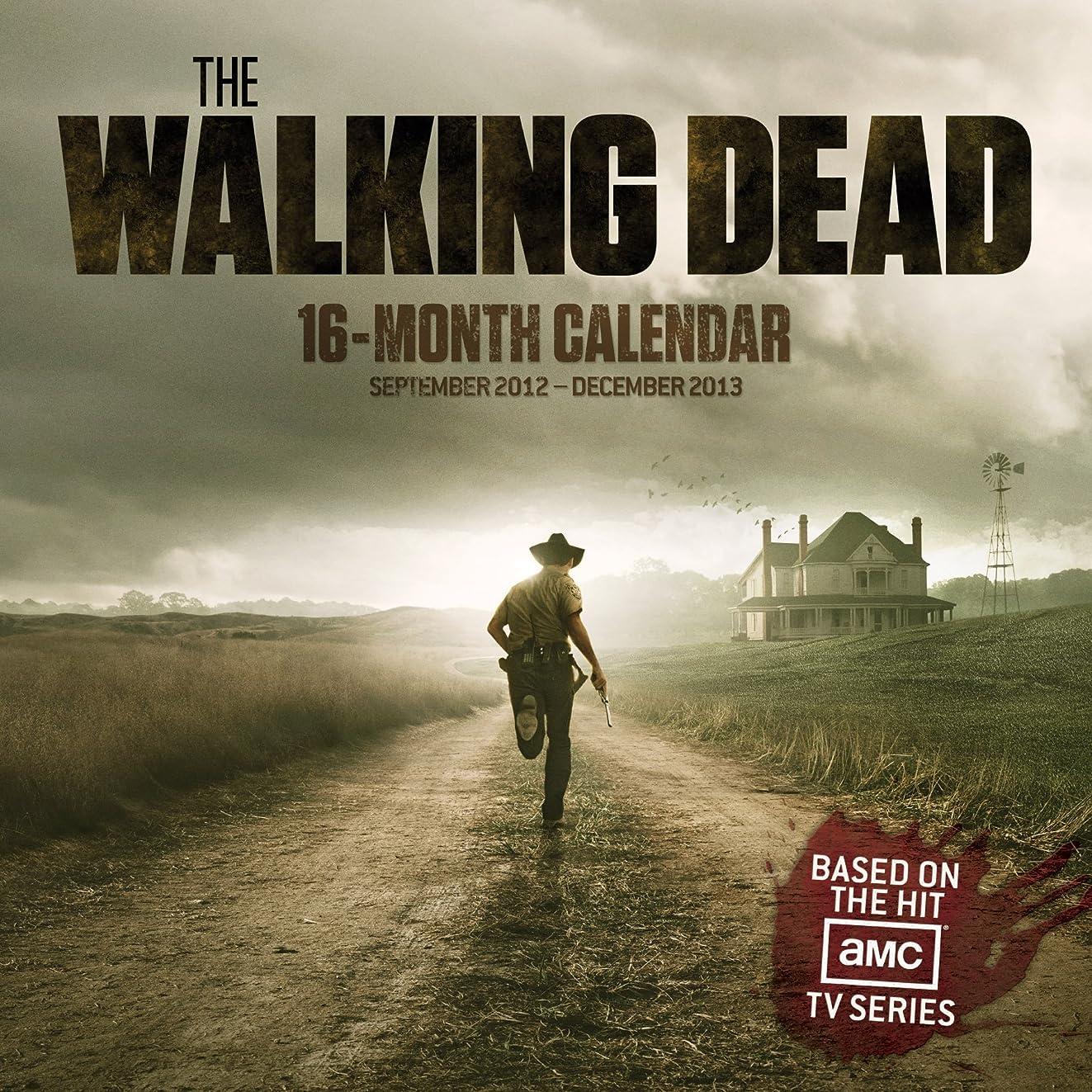 小道具展望台The Walking Dead 2013 Calendar
