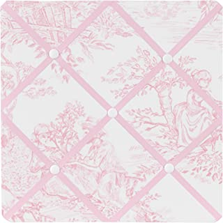 Pink French Toile Fabric