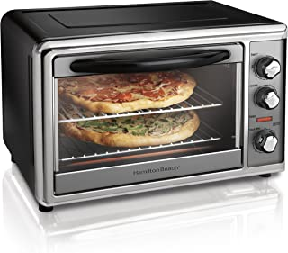 Hamilton Beach 31107D Countertop Oven with Convection & Rotisserie, Large, Stainless Steel