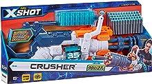 ZURU XSHOT Crusher - Shoots 90 FT/27M - Slam fire - 48 Ammo