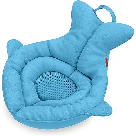 Skip Hop Baby Bath Tub, Newborn Softspot Sink Bather, Moby, Blue