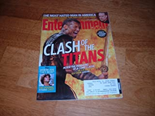 Entertainment Weekly April 9 2010 Clash of the Titans on Cover, Jesse James - Most Hated Man In America, On the Set of The Mentalist/Simon Baker, Susan Sarandon, Kick-Ass the Movie