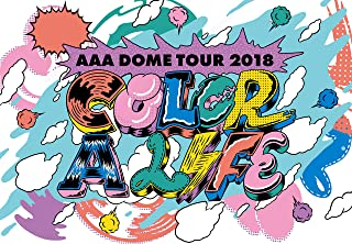 日本市場AAA DOME TOUR 2018 COLOR A LIFE(Blu-ray Disc)品質パフォーマンス