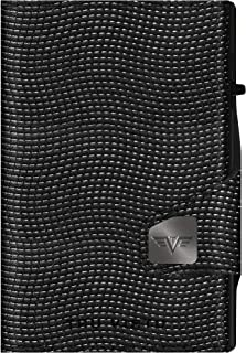 Tru Virtu Click & Slide Coin Pocket Lizard Black/Black
