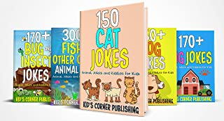 1000 CAT, DOG, PIG, FISH AND OTHER OCEAN ANIMAL, BUG AND INSECT JOKES: 5 IN 1 ANIMAL JOKES AND RIDDLES FOR KIDS