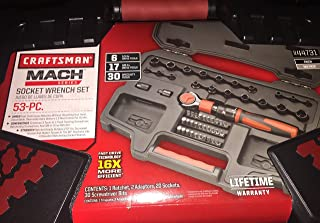craftsman mach series 53 pc socket wrench set