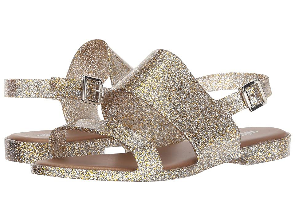Melissa Shoes Classy (Mix Gold Glitter) Women