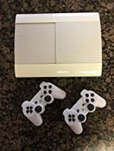 Sony PlayStation 3 PS3 Super Slim CECH-4012 500GB Console - White (Renewed)
