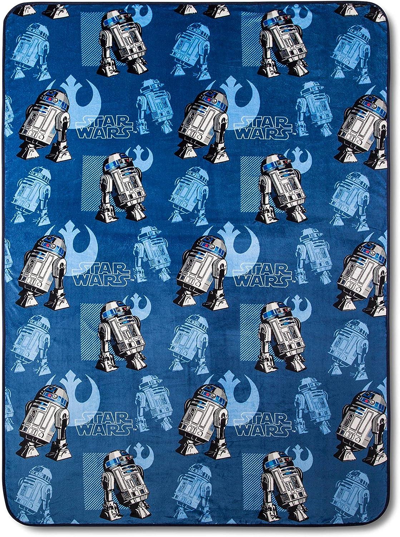 Jay Franco Regular store Sons Star Wars R2-D2 Full Blue Queen Sets 5 ☆ popular Blanket