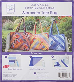 June Tailor JT-1477 Quilt As/Go Alexandra Tote Bag, None
