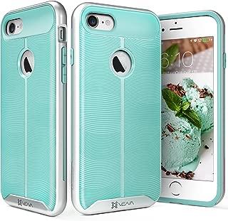 iPhone 7 Case, Vena [vAllure] Wave Texture [Bumper Frame][CornerGuard Shockproof   Strong Grip] Slim Hybrid Cover for iPhone 7 (4.7