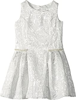 Us Angels - Sleeveless Princess Bodice Dress w/ Drop Waist (Toddler/Little Kids)
