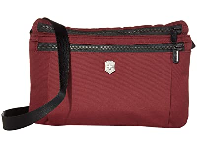 Victorinox Compact Crossbody Bag (Beetroot) Handbags