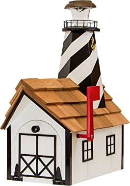 Cape Hatteras Amish-Made Lighthouse Mailbox