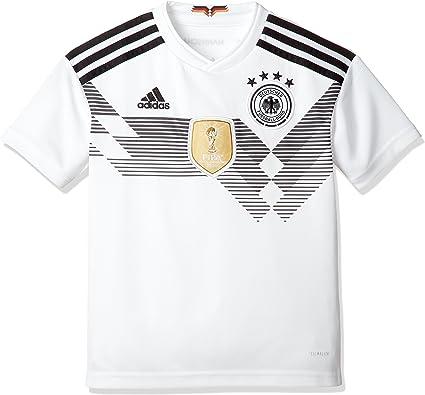 adidas 2018-2019 Germany Home Football Soccer T-Shirt Jersey (Kids)