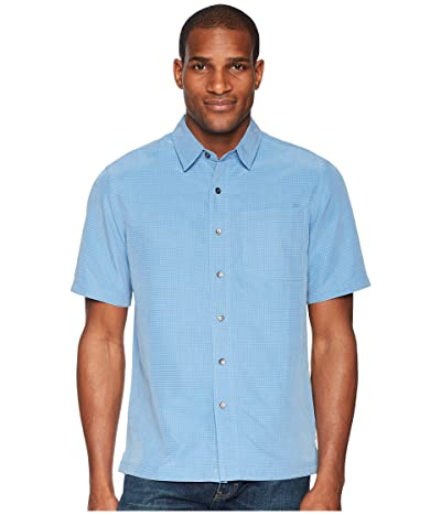 Royal Robbins Desert Pucker S/S (Parisian Blue) Men