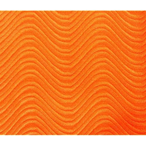 Orange Velvet Fabric Upholstery Amazon Com