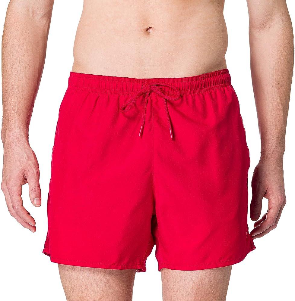 Emporio armani swimwear, boxer essential, costume da bagno uomo,100% poliestere 211752 1P438 06574