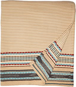 Organic Cotton Jacquard Blanket - Queen