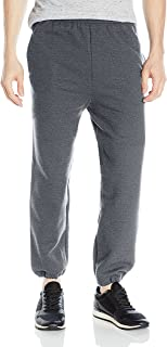 Men's Fleece Elastic Bottom Pocketed Pant