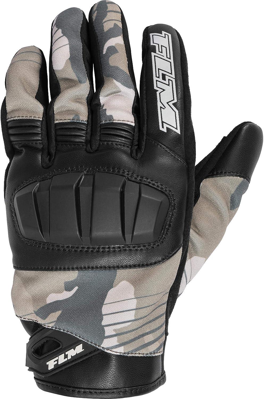 Flm Motorradhandschuhe Kurz Motorrad Handschuh Sommer Textilhandschuh 2 0 Herren Sportler Leder Textil Bekleidung