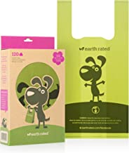 Earth Rated Poop Bags, Dog Waste Bags with Easy Tie Handles, Completely Leak-Proof, Fits Standard Sized Cat Litter Scoops, 7 x 13.5 Inches, Easy Dispensing