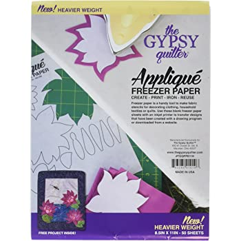 Gypsy Quilter Freezer Paper 8 1/2in x 11in Heavy Weight