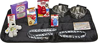 Puppy Starter Kit for Large Dog Breeds, Kit includes: Kong Classic Toys & Treats | Coastal Dog Leash & Collar | MidWest Do...