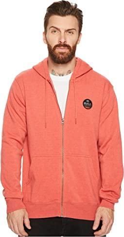 RVCA - Machine Sun Wash Zip Hoodie