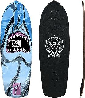 TXIN - Surfskate Deck Shark Atack 34 Skate Skateboard mon...