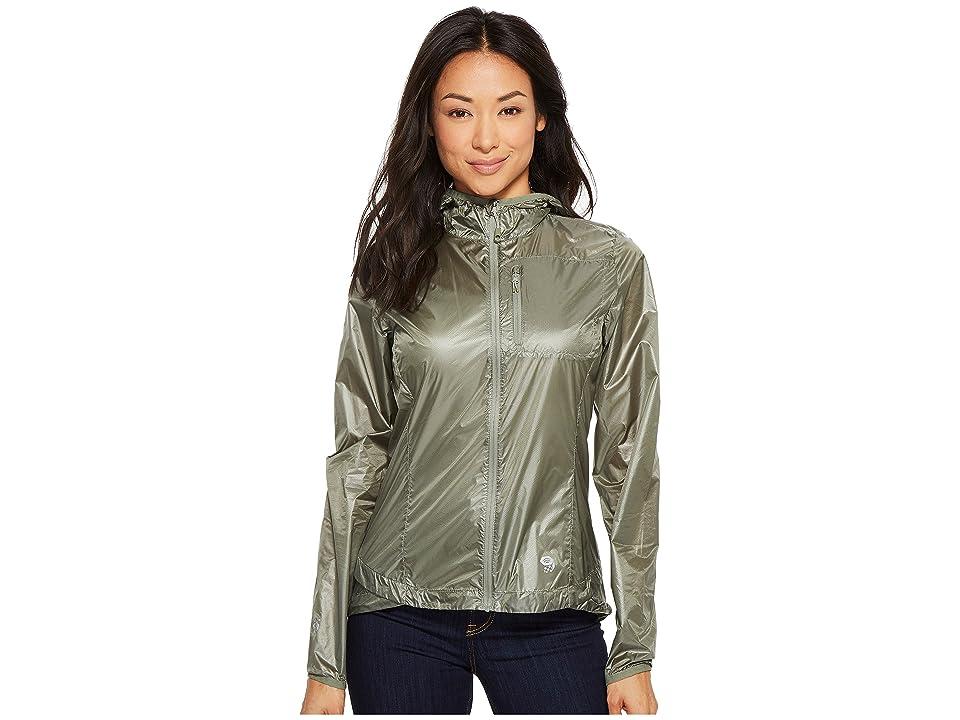 Mountain Hardwear Ghost Litetm Jacket (Green Fade) Women