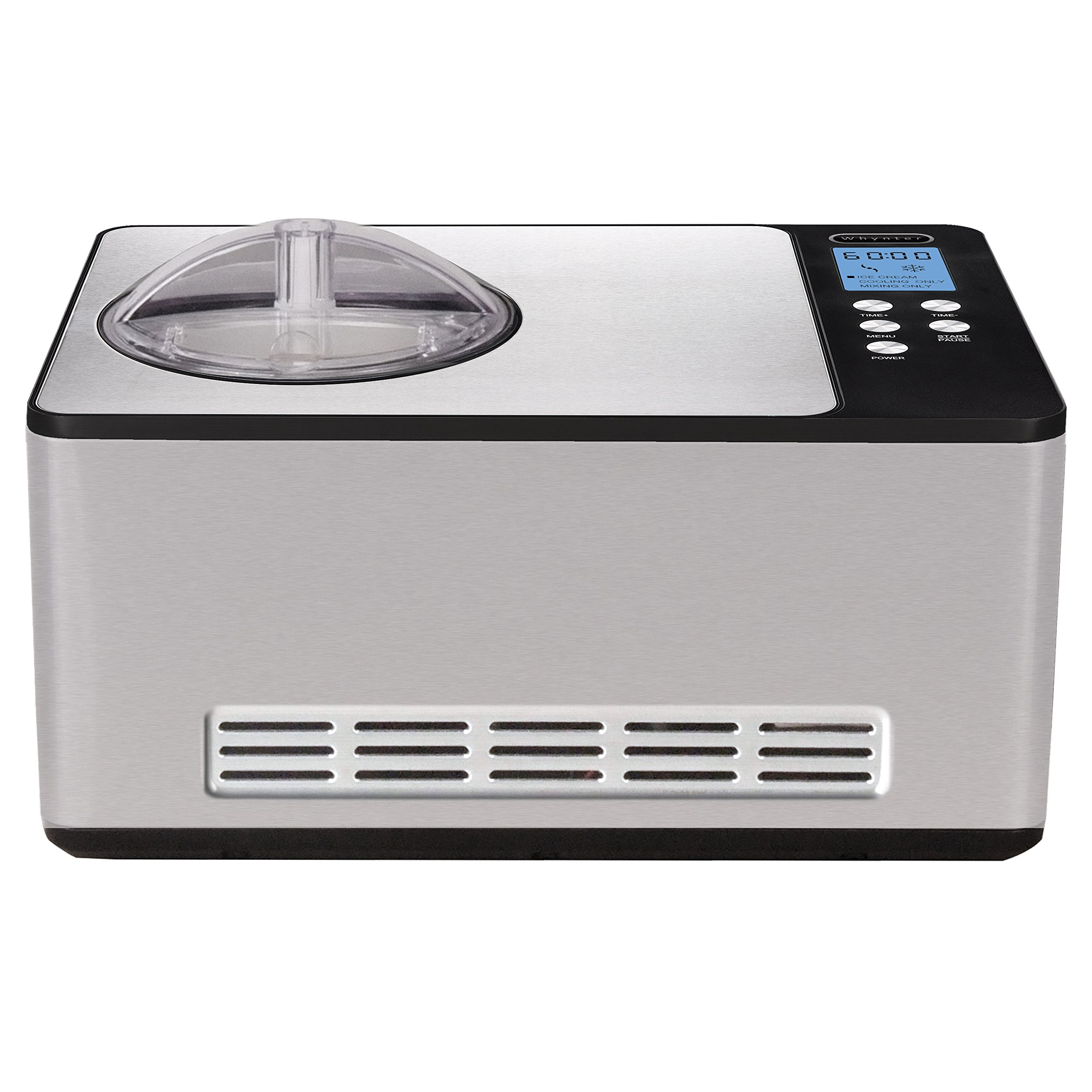 Whynter ICM 200LS Stainless 2 1 Quart Silver
