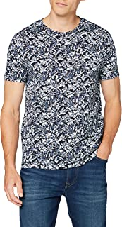 Tommy Hilfiger All Over Leaf Print Tee Camicia Sportiva Uomo