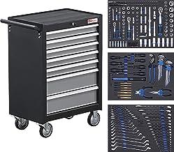BGS 4062 | Carro de herramientas | 7 cajones | con 263 herramientas
