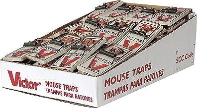 Victor Pest Metal Pedal Mouse Trap Bulk 72 Count [Set of 72]