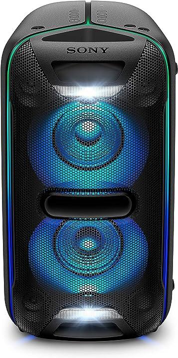 Sony gtk-xb72 sistema audio con extra bass, effetti luminosi, bluetooth, nfc, alimentazione ac, nero