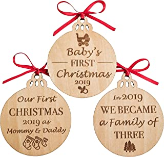 baby boy 1st christmas ornament 2017