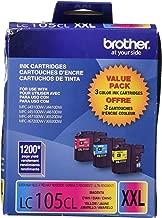 Brother International LC1053PKS 3 Pack LC105C M Y
